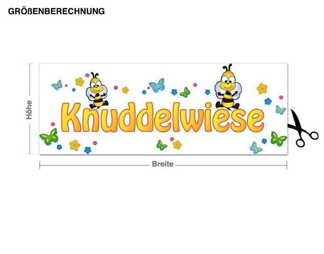 Wandsticker Knuddelwiese