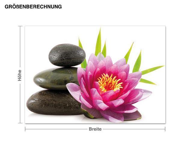 Wandsticker Lotusblüte