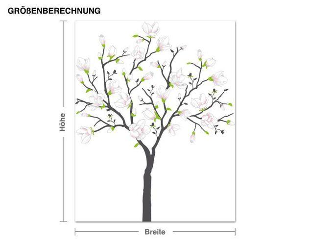 Wandsticker Magnolienbaum