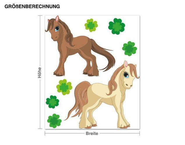 Wandsticker Ponyfreunde