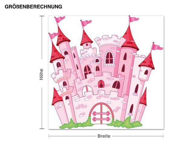 Wandsticker Schloss