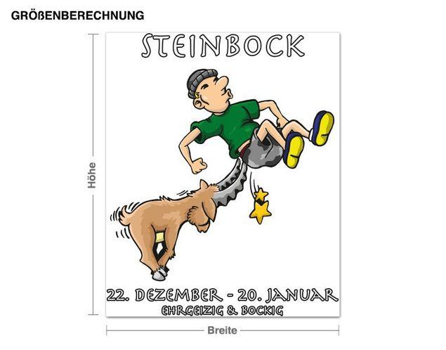 Wandsticker Sternzeichen Steinbock
