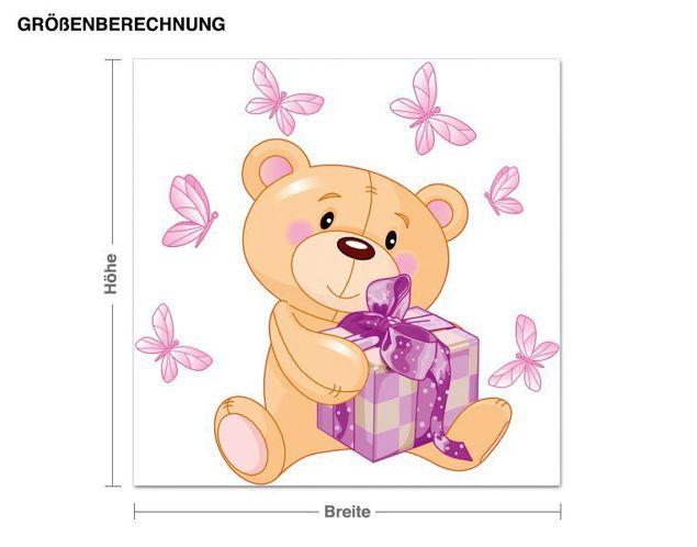 Wandsticker Teddy