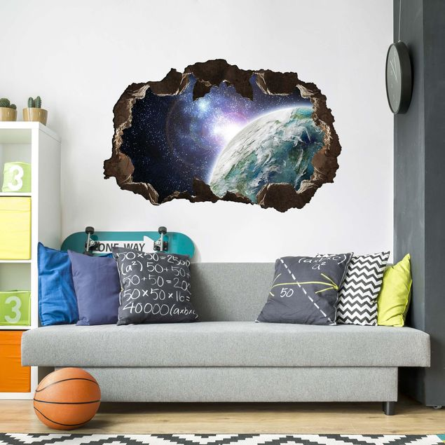 3D Wandtattoo - Galaxy Light - Quer 2:3