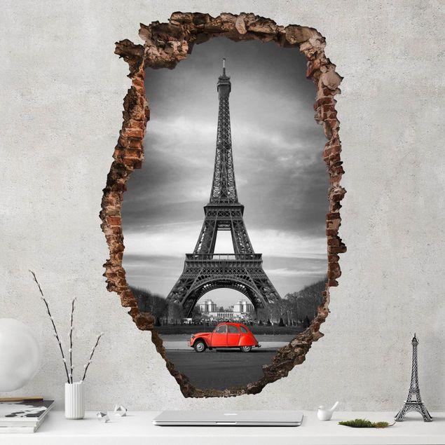 3D Wandtattoo - Spot on Paris - Hoch 3:2