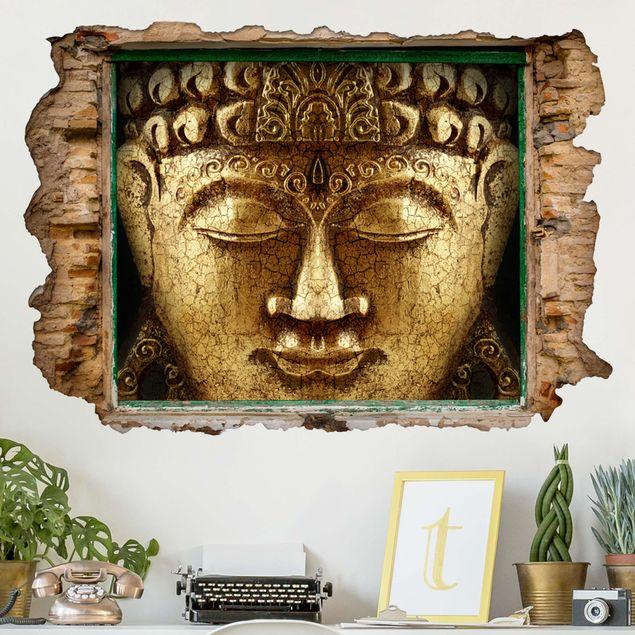 3D Wandtattoo - Vintage Buddha - Quer 2:3