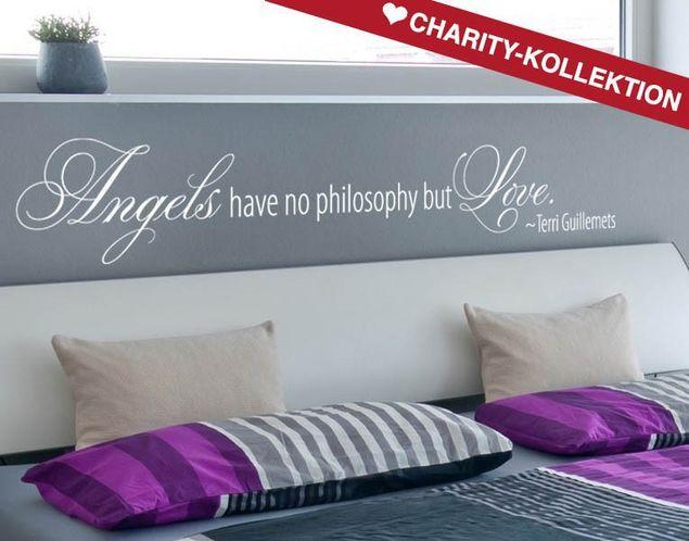 Wandtattoo Angels Philosophy
