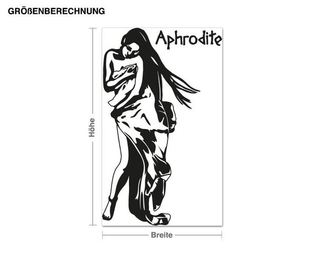 Wandtattoo Aphrodite