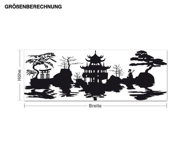 Wandtattoo Asia-Harmonie
