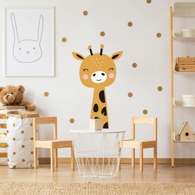 Wandtattoo - Baby Giraffe
