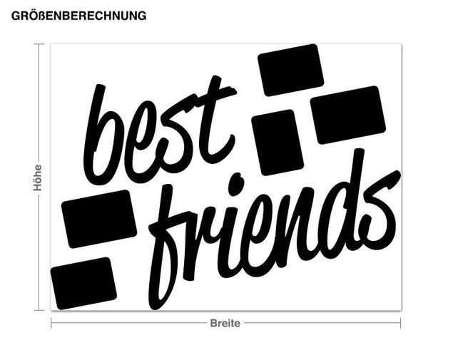 Wandtattoo Best Friends
