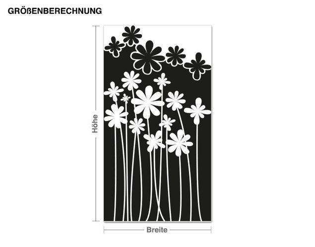 Wandtattoo Blütenwald