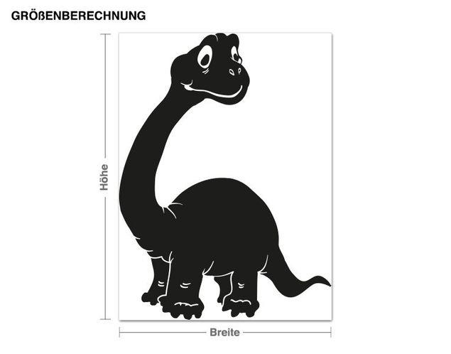 Wandtattoo Brachiosaurus