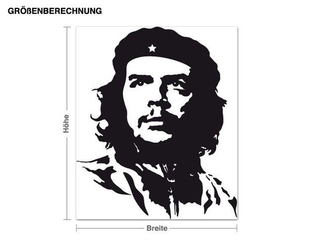 Wandtattoo Che Guevara