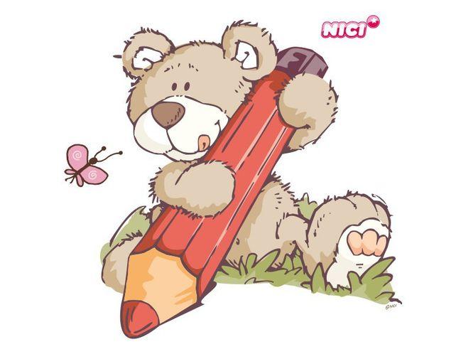 Wandtattoo Classic Bears