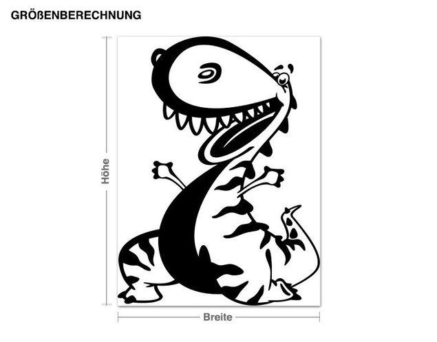 Wandtattoo Dino