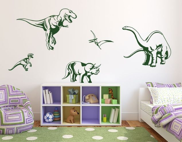Wandtattoo Dino Set