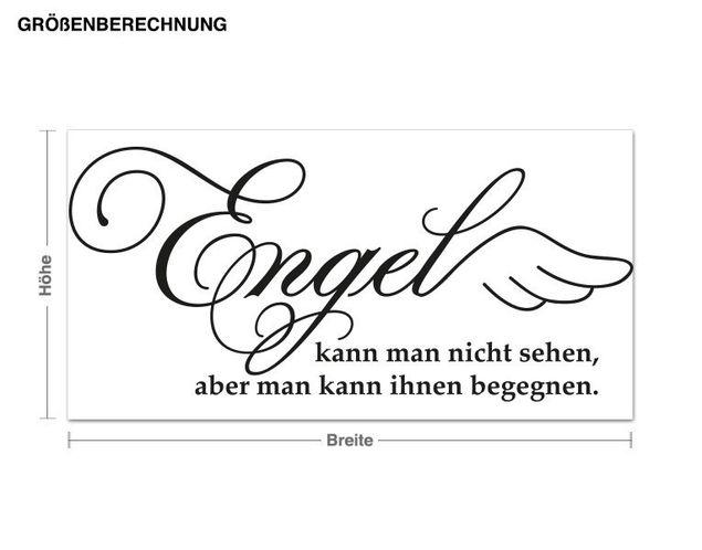 Wandtattoo Engel begegnen