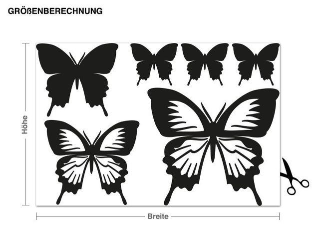 Wandtattoo Ergänzungsset Schmetterlinge