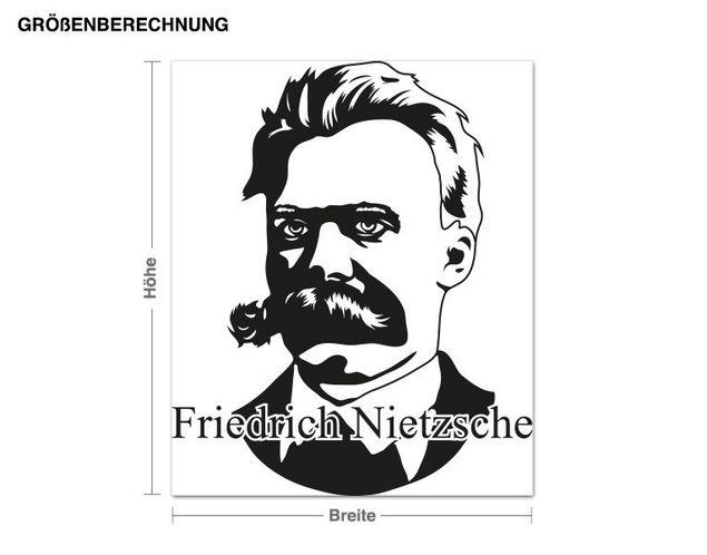 Wandtattoo Friedrich Nietzsche