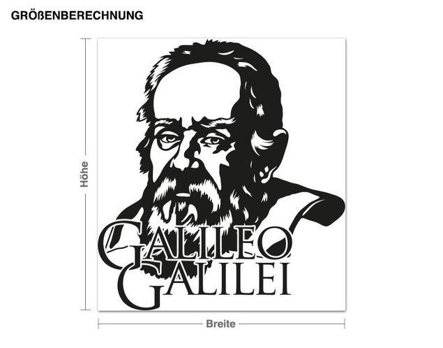 Wandtattoo Galileo Galilei
