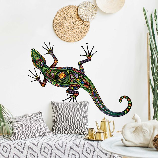 Wandtattoo Gecko No.652 Geckomuster