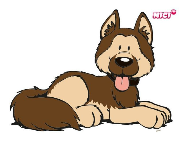 Wandtattoo German Shepherd Hund