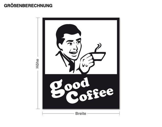 Wandtattoo Good Coffee