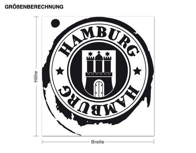 Wandtattoo Hamburg