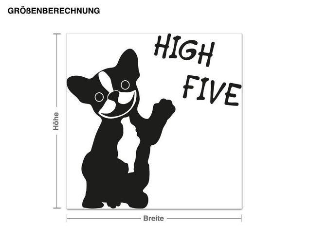 Wandtattoo High Five