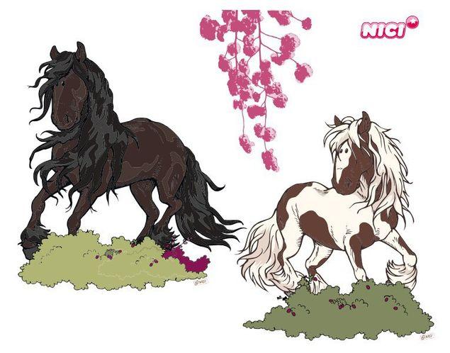 Wandtattoo Horse Club