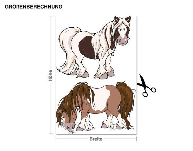 Wandtattoo Horse Club Junior Pferde