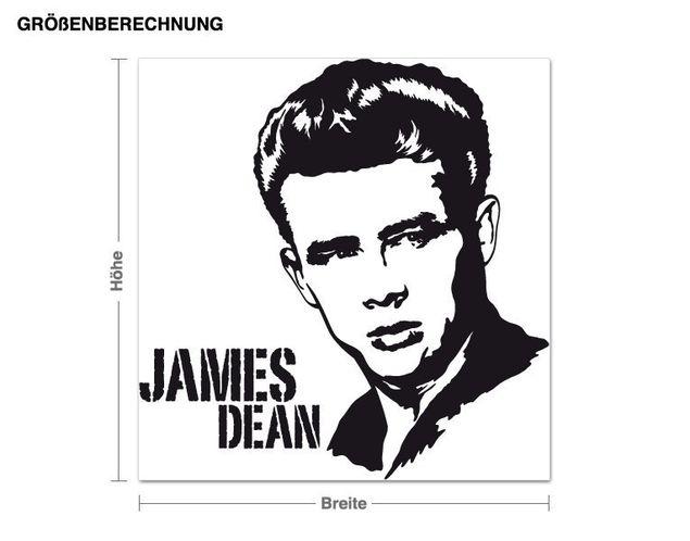Wandtattoo James Dean