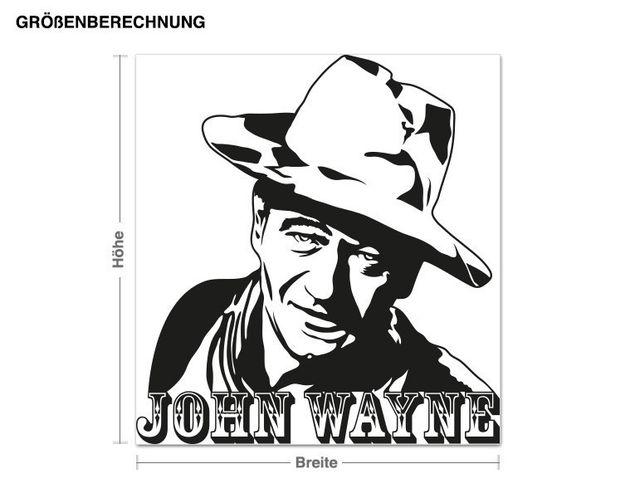 Wandtattoo John Wayne