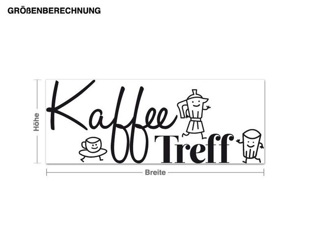 Wandtattoo KaffeeTreff