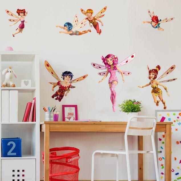 Wandtattoo Kinderzimmer Mia and Me - Mia und die Elfen von Centopia