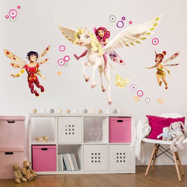 Wandtattoo Kinderzimmer Mia and Me - Mia Yuko und Mo