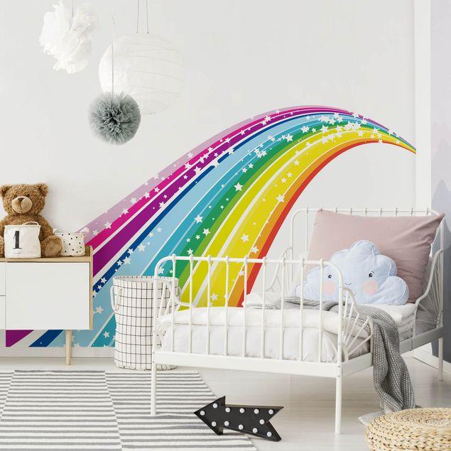 Wandtattoo Kinderzimmer No.620 Rainbow