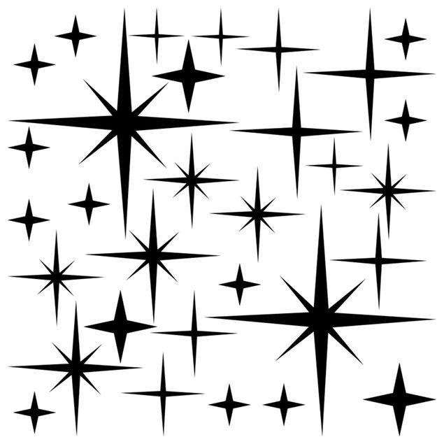 Wandtattoo Sternenhimmel Set