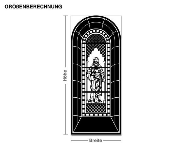 Wandtattoo Kirchenfenster