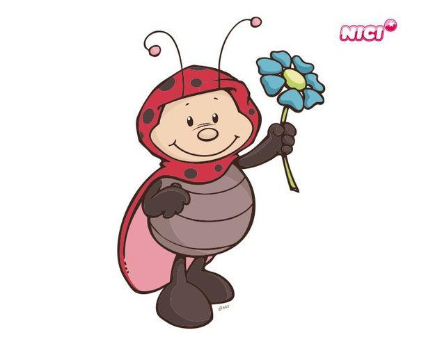 Wandtattoo Lady May mit Blume