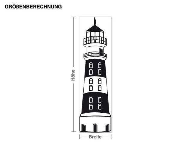 Wandtattoo Leuchtturm