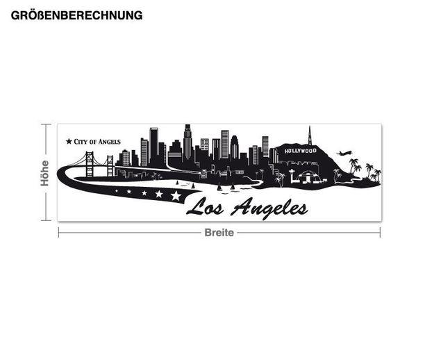 Wandtattoo Los Angeles
