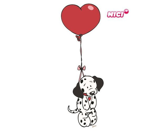 Wandtattoo Love dog