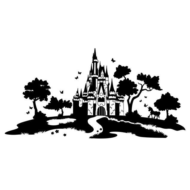 Wandtattoo - Märchenschloss