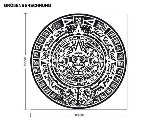 Wandtattoo Maya-Kalender