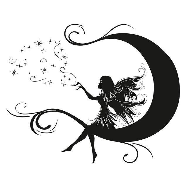 Wandtattoo - Mondfee