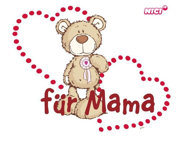 Wandtattoo Mothers Day Bear