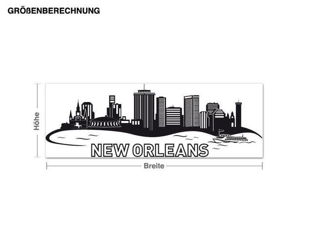 Wandtattoo New Orleans