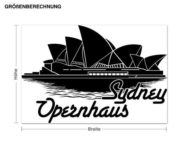 Wandtattoo Opernhaus Sydney